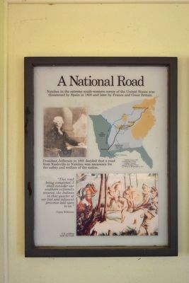 A National Road Marker image. Click for full size.