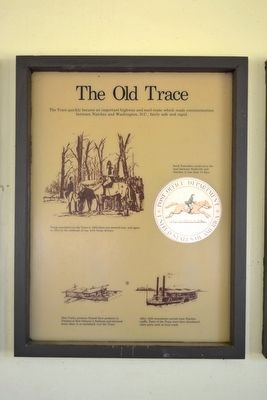 The Old Trace Marker image. Click for full size.