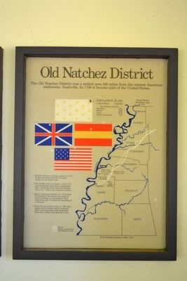 Old Natchez District Marker image. Click for full size.