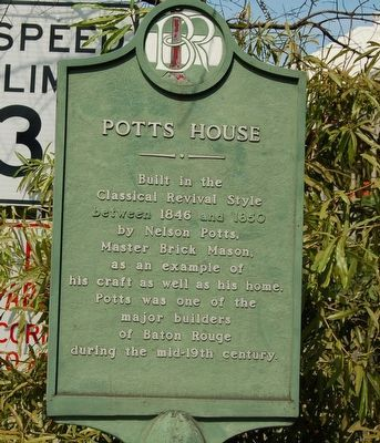 Potts House Marker image. Click for full size.