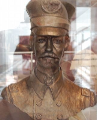 Admiral Raphael Semmes- Museum of Mobile- Bust image. Click for full size.