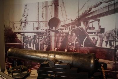Admiral Raphael Semmes- Museum of Mobile-CSS Alabama Cannon image. Click for full size.