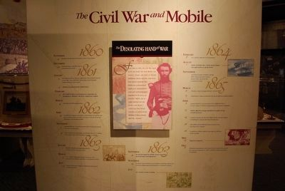 The Museum of Mobile- The Civil War & Mobile image. Click for full size.