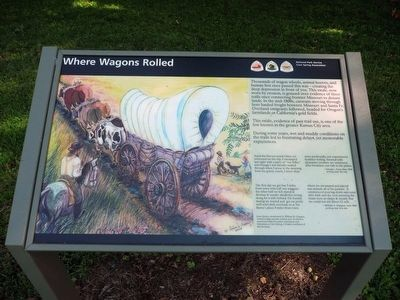 Where Wagons Rolled Marker image. Click for full size.