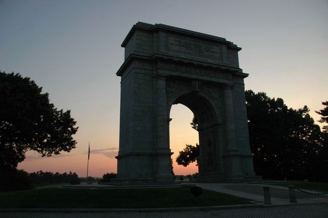 The National Arch at Valley Forge image. Click for full size.