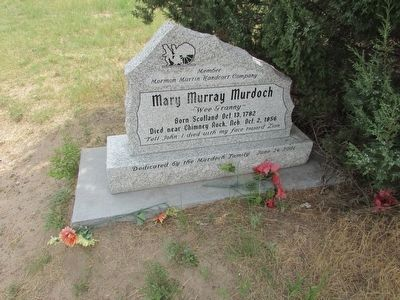 Mary Murray Murdoch Marker image. Click for full size.