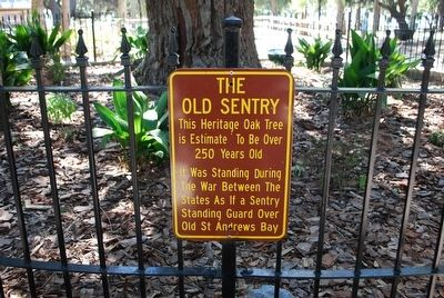 The Old Sentry Marker image. Click for full size.