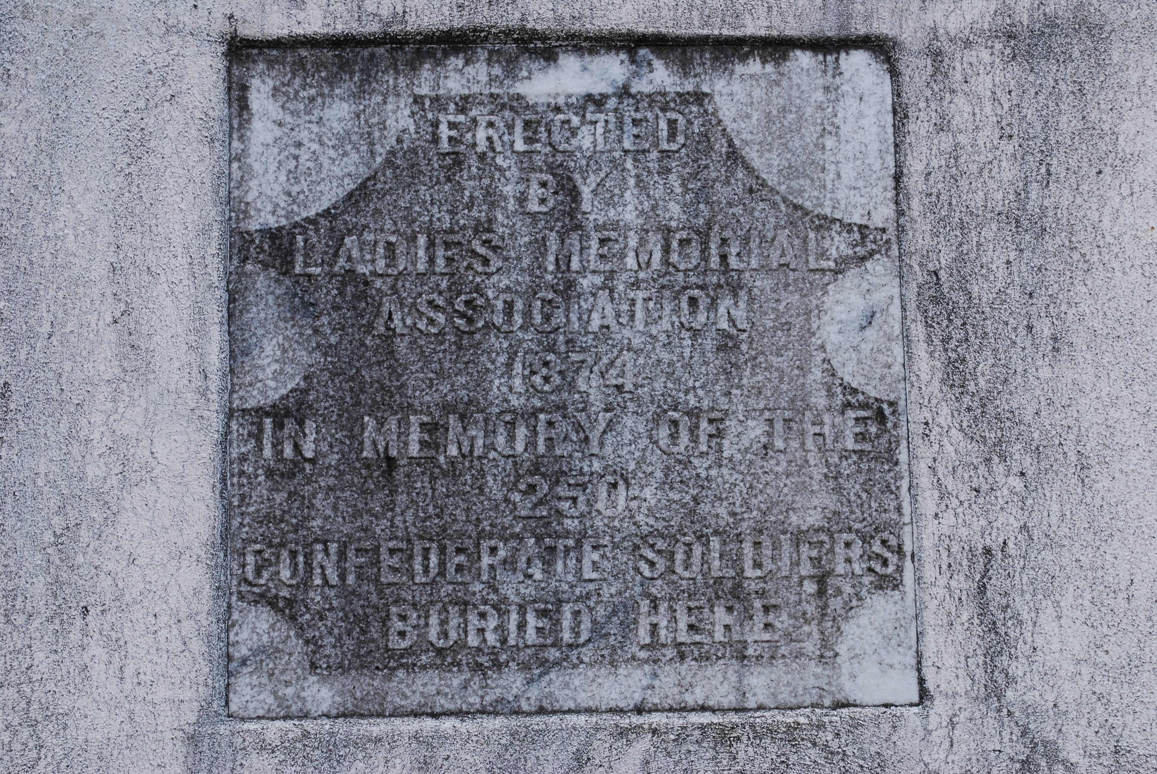 Confederate Memorial Marker