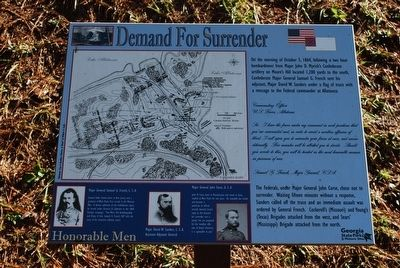 Demand For Surrender Marker image. Click for full size.
