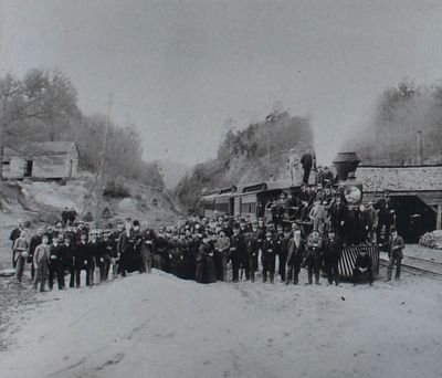 1887 photo- posing with the General at Allatoona Pass image. Click for full size.
