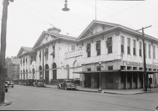 <i>General Front View. - ROYAL ST. - Southern Market & Municipal Building, 107-115 South Royal…</i> image. Click for full size.