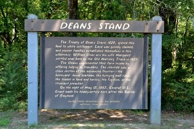 Deans Stand Marker image. Click for full size.