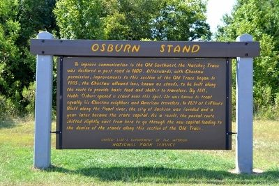 Osburn Stand Marker image. Click for full size.
