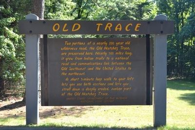 Old Trace Marker image. Click for full size.