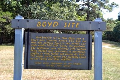 Boyd Site Marker image. Click for full size.