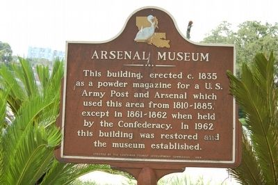 Arsenal Museum Marker image. Click for full size.