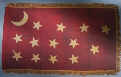 Flag of Cockrell's 4th Missouri Infantry Regiment image. Click for full size.