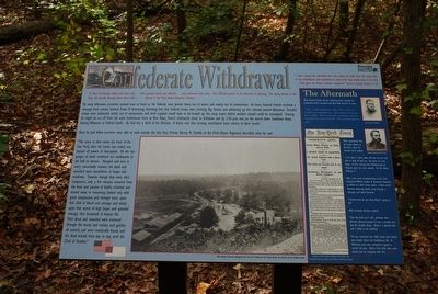 Confederate Withdrawal Marker image. Click for full size.