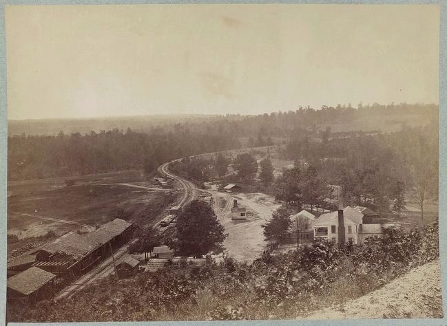 Allatoona Pass, Ga. looking south image. Click for full size.