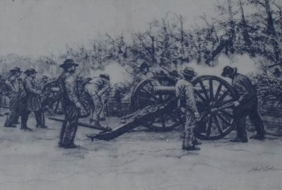 Confederate Artillery Crews image. Click for full size.