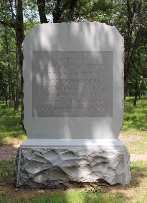 16th United States Infantry Marker image. Click for full size.