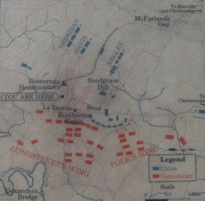 Rout of the Union Right Marker Map image. Click for full size.