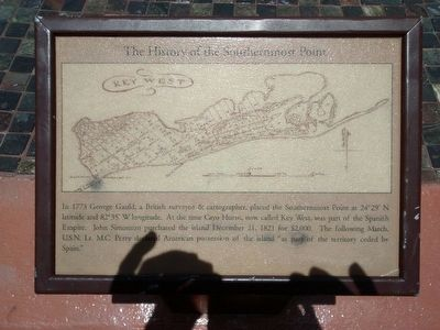 The History of the Southernmost Point Marker image. Click for full size.