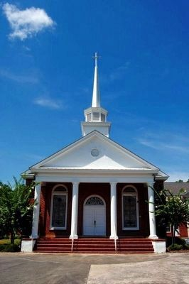 Kiowee Baptist Church<br>Established 1772<br>Seventh Meeting House<br>Erected 1995 image. Click for full size.