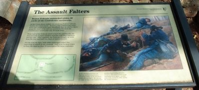 The Assault Falters Marker image. Click for full size.
