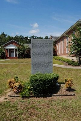 Religious Liberty in Georgia Marker image. Click for full size.