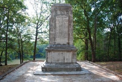Illinois Monument (rear) image. Click for full size.