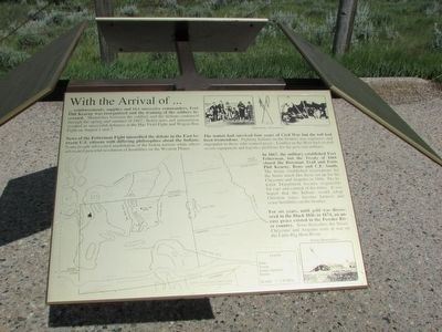 Northern Plains Indian Wars Marker #4 image. Click for full size.