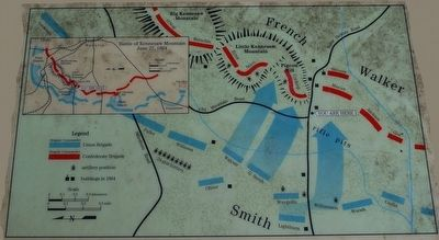 Assault on Pigeon Hill Marker Map image. Click for full size.