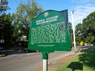 Normal Station Neighborhood Marker image. Click for full size.