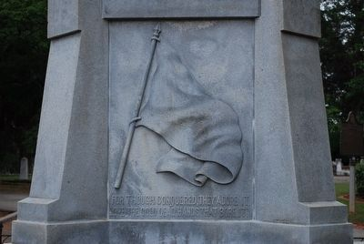 U.D.C. Confederate Soldiers Monument (rear) image. Click for full size.