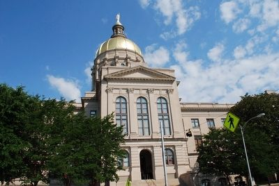 Georgia State Capitol image. Click for full size.