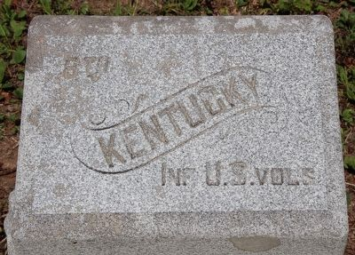 8th Kentucky Infantry Regiment (US Volunteers) Marker image. Click for full size.