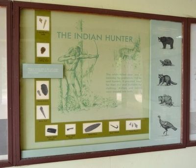The Indian Hunter Marker image. Click for full size.