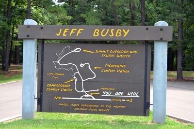 Map of Jeff Busby Park image. Click for full size.