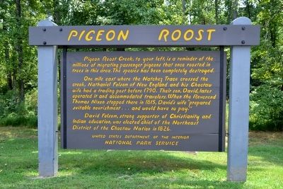 Pigeon Roost Marker image. Click for full size.