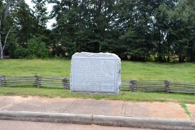 D.A.R. Memorial of Natchez Trace image. Click for full size.