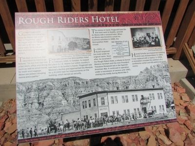 Rough Riders Hotel Marker image. Click for full size.