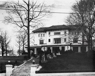 Harry Wardman's House, 1920 image. Click for full size.