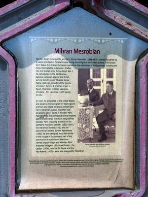 Mihran Mesrobian Marker image. Click for full size.