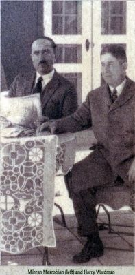 Mihran Mesrobian (left) and Harry Wardman image. Click for full size.