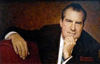 Richard M. Nixon image. Click for full size.