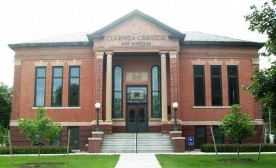 Carnegie Library Art Museum image. Click for full size.
