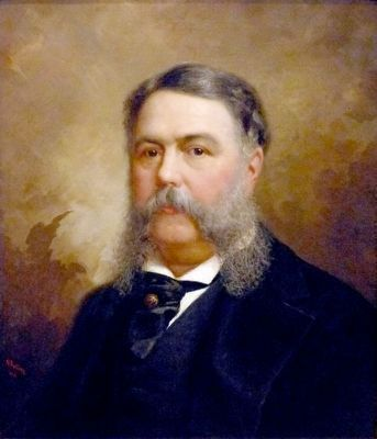 Chester A. Arthur image. Click for full size.