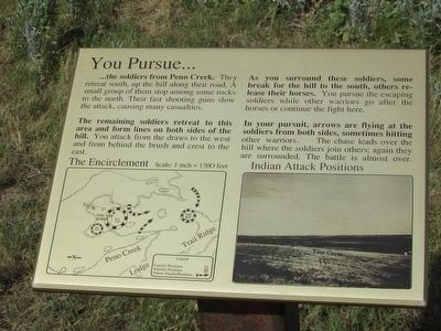You Pursue . . . Marker image. Click for full size.