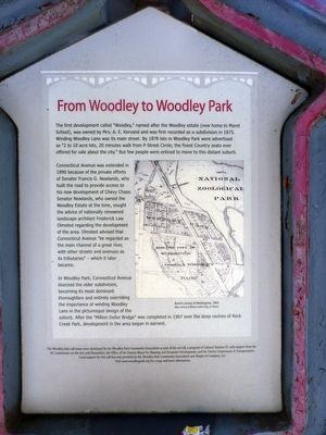 From Woodley to Woodley Park Marker image. Click for full size.